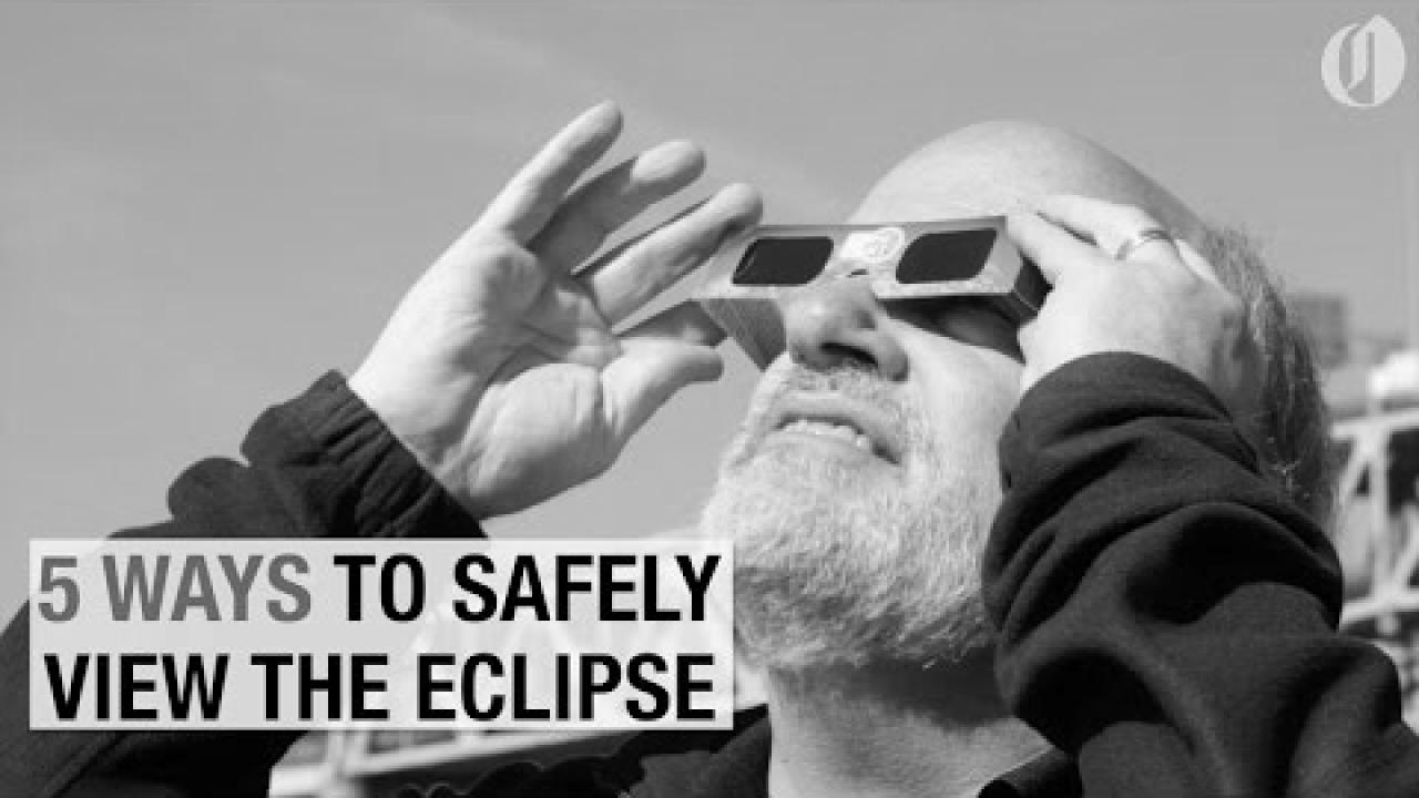 Embedded thumbnail for 5 ways to safely view the 2017 total solar eclipse