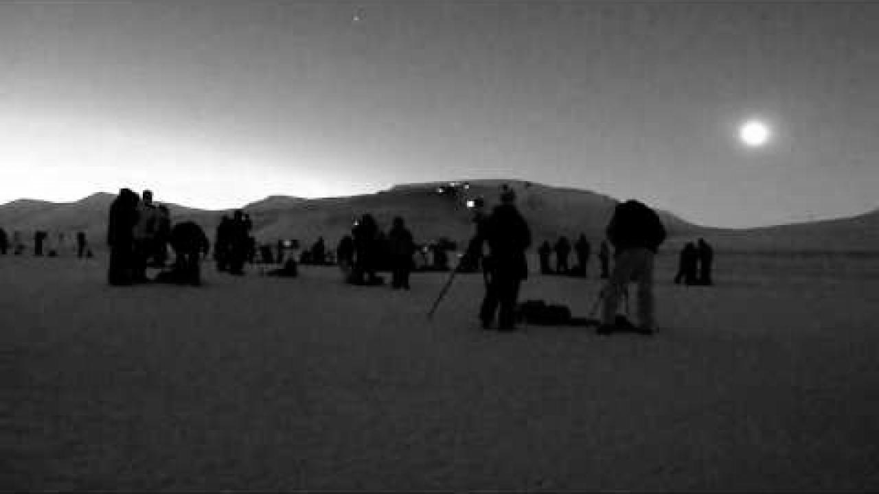 Embedded thumbnail for Total Solar Eclipse in Svalbard 2015 (Crowd Reaction)