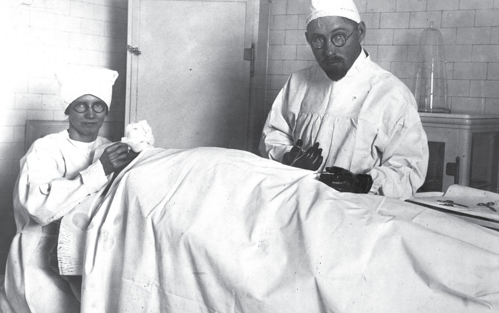 Surgical Strike: Neither Brinkley nor his wife, Minnie, ever obtained proper medical credentials, but they made big money on Brinkley's quack treatments and operations.