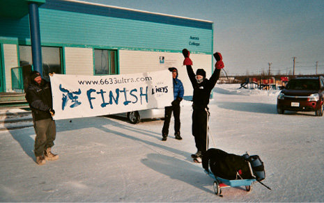 6633 Arctic Ultra, Canada: In January 2008, Lowell was the only person to finish all 350 miles of this ultra, noted as the coldest race of the year. The first in the four-part Arctic Grand Slam race series, she went on to complete the remaining three ultras in the months that followed, and in July, completed the Badwater 135, the year's hottest race.