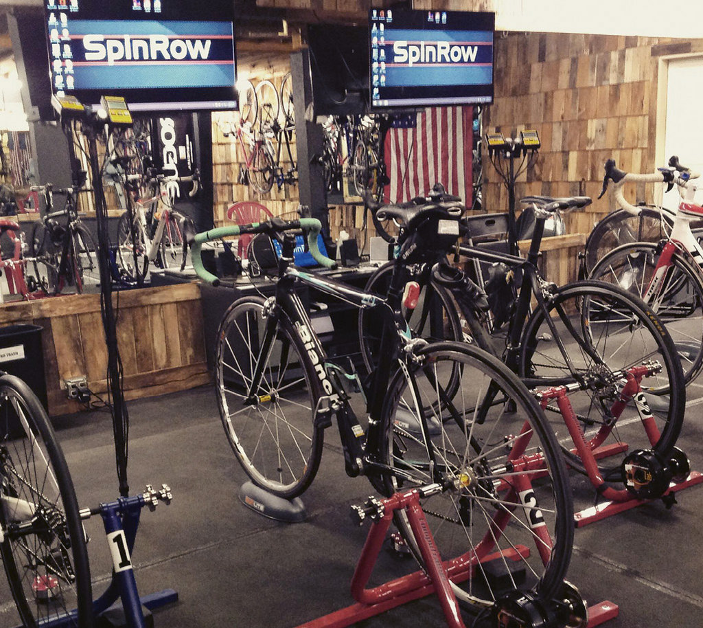 SpinRow's CompuTrainer program is a good option for avid cyclists.