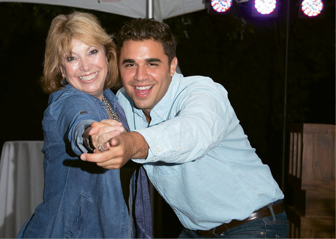 Deborah McDowell with Zak Ammar