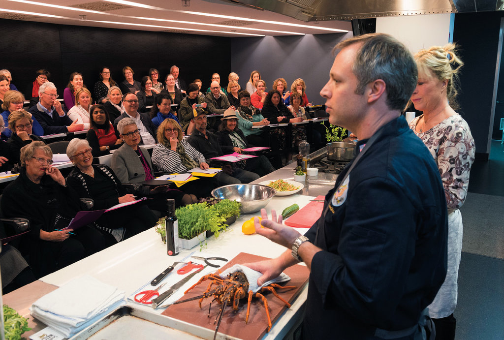 Global Ties - Under a US Embassy program, in 2016 Dissen traveled to New Zealand, where he cooked alongside celebrity Kiwi chef Annabel Langbein at Le Cordon Bleu in Wellington.