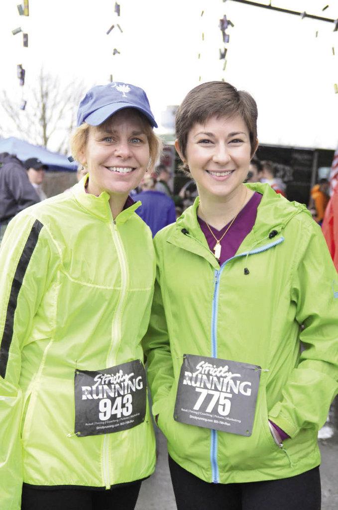 Karen Lewis and Maria Blakeman