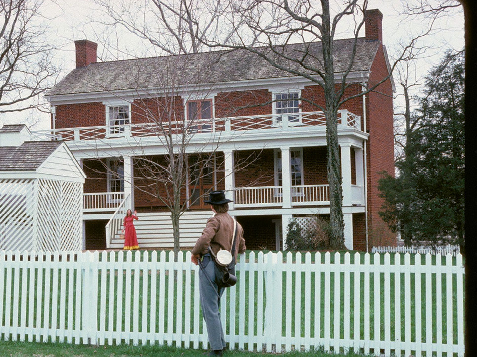 Place of Importance: The McLean house, where General Robert E. Lee surrendered his army on April 9, 1865