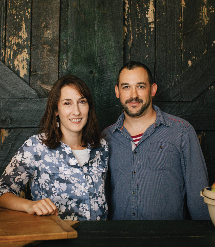 Jessica DeMarco and her brother, Dan Stubee, of Copper Pot & Wooden Spoon make all of the creative offerings