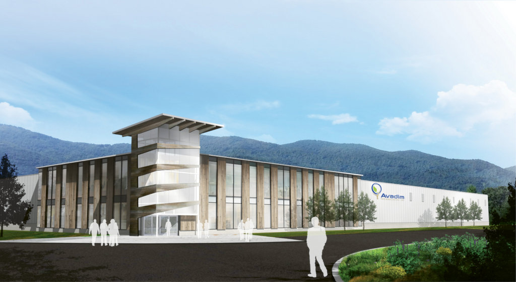 Scaling Up: Woody's company is investing $25 million in a new manufacturing facility in Black Mountain that will bring 500 new jobs to the area by 2018. (rendering by Aiton Anderson Architecture)