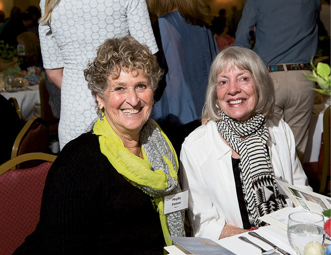 Phyllis Patton and Nancy Kitch