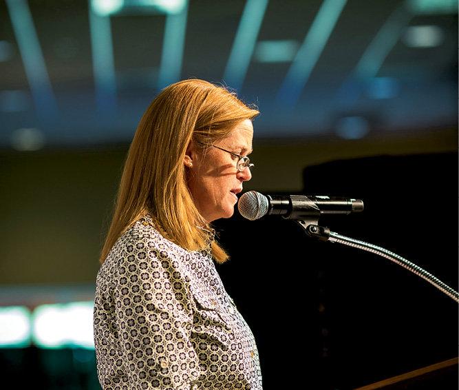 Community Foundation President Elizabeth Brazas