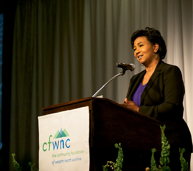Physician and NASA astronaut Dr. Mae Jemison was the featured speaker.