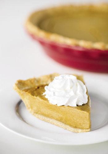 Vegan, gluten-free Pumpkin Pie