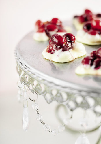 White Chocolate-Cranberry Clusters