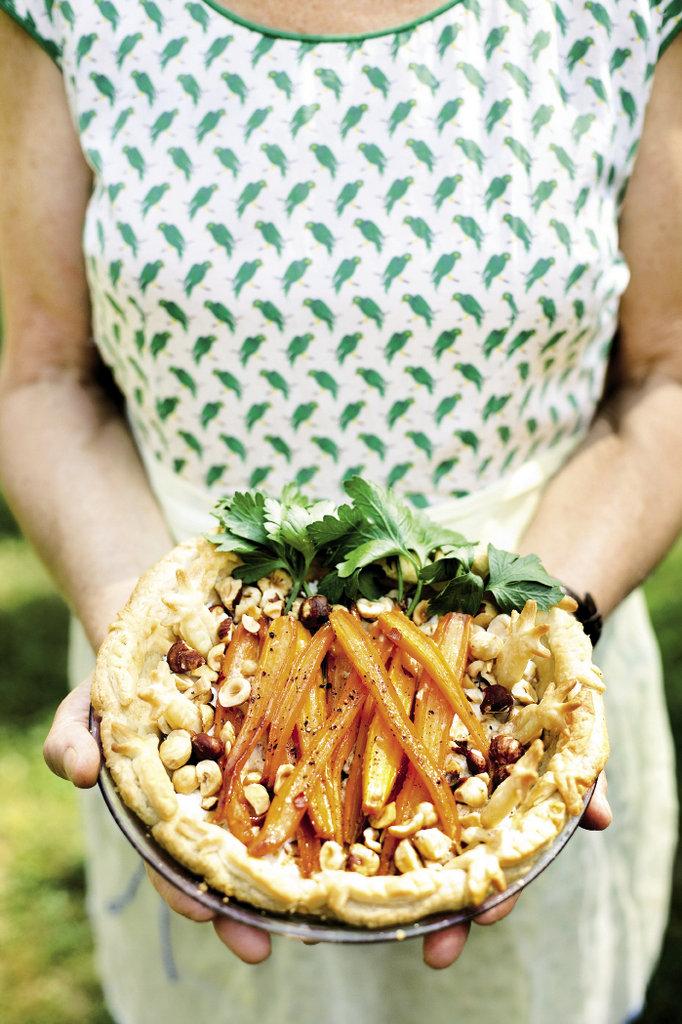 Glazed Carrot Chèvre Hazelnut
