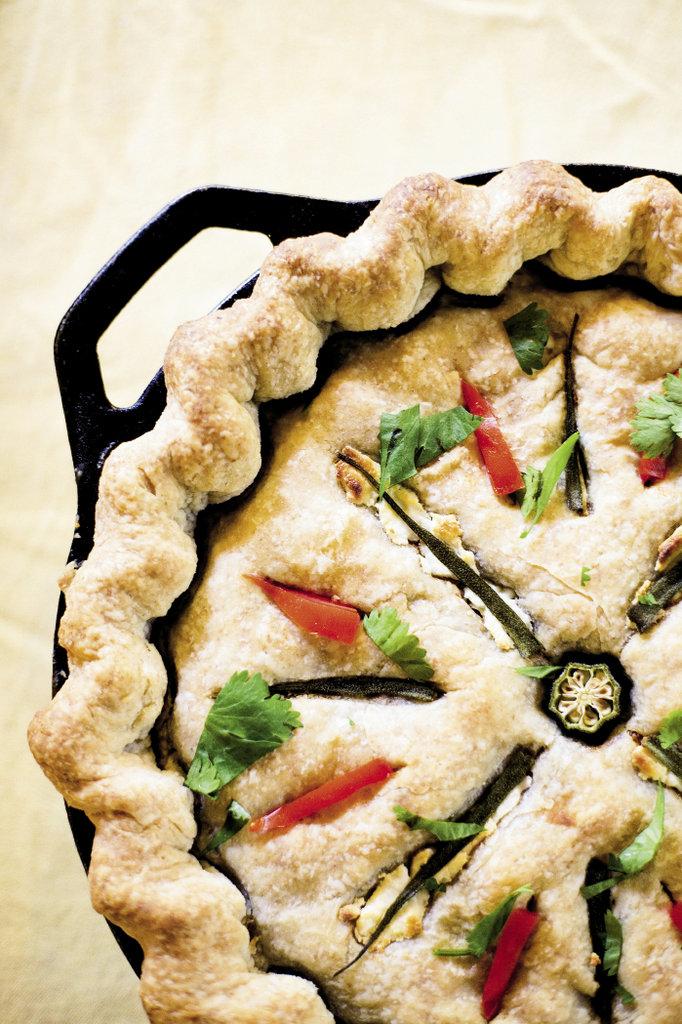 Chicken Molé Pot Pie