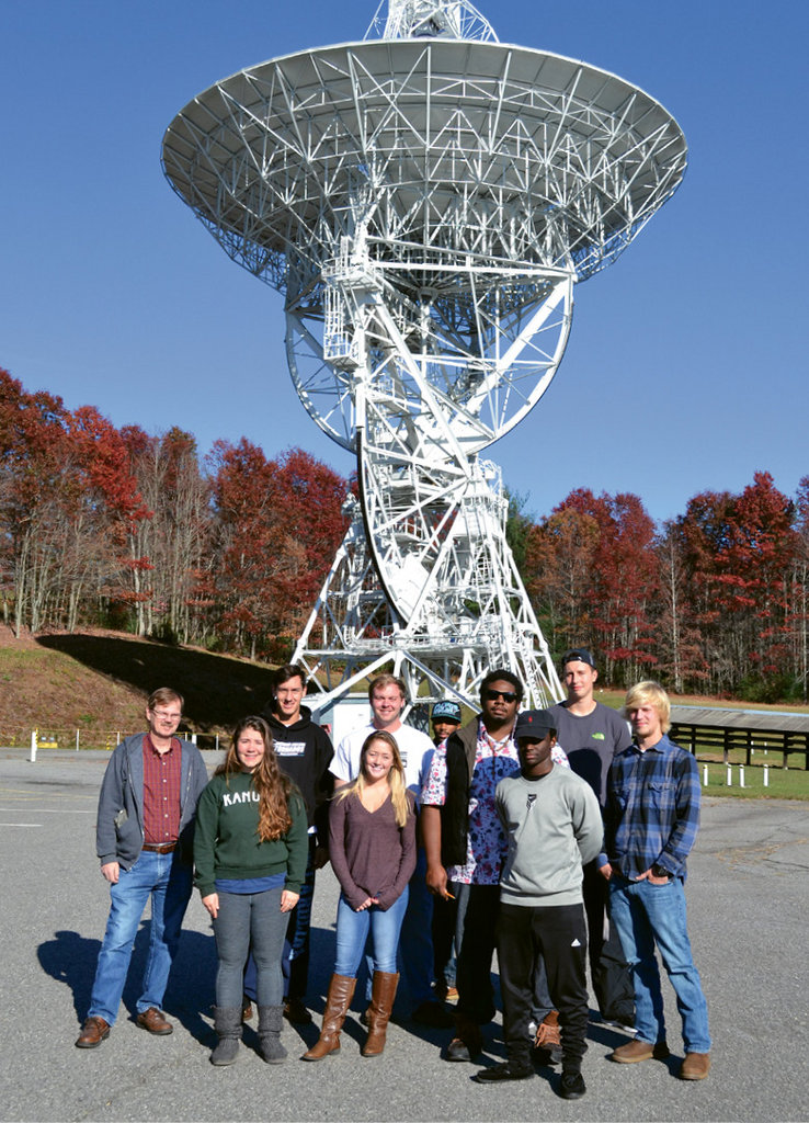 The National Science Foundation recently awarded Brevard College and the Pisgah Astronomical Research Institute, a nearby nonprofit, a grant to spur STEM studies at the liberal arts school.