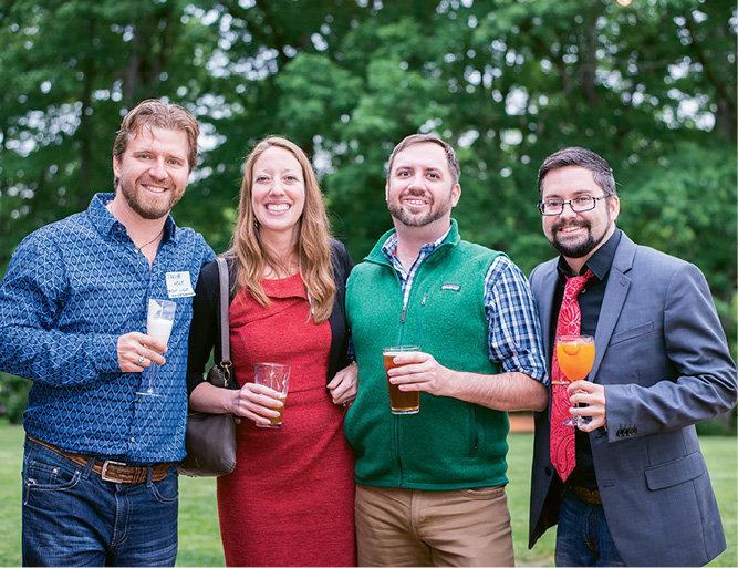 Jakub Holy, WNC's Melissa Reardon, Chris Bubenik, and contributing writer Jonathan Ammons