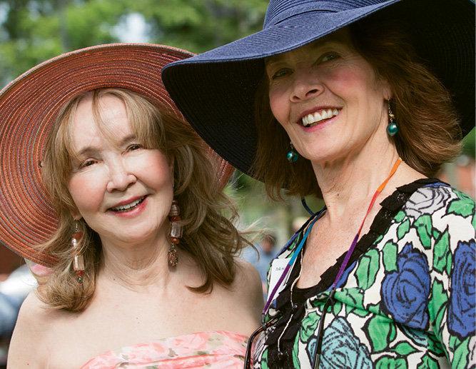 Sandra Pait Clay and Lisé Swensson