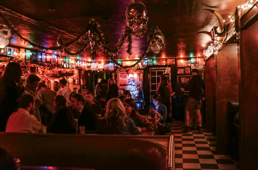 14. Decked with New Orleans flair, The Double Crown offers live shows, DJs, and karaoke.