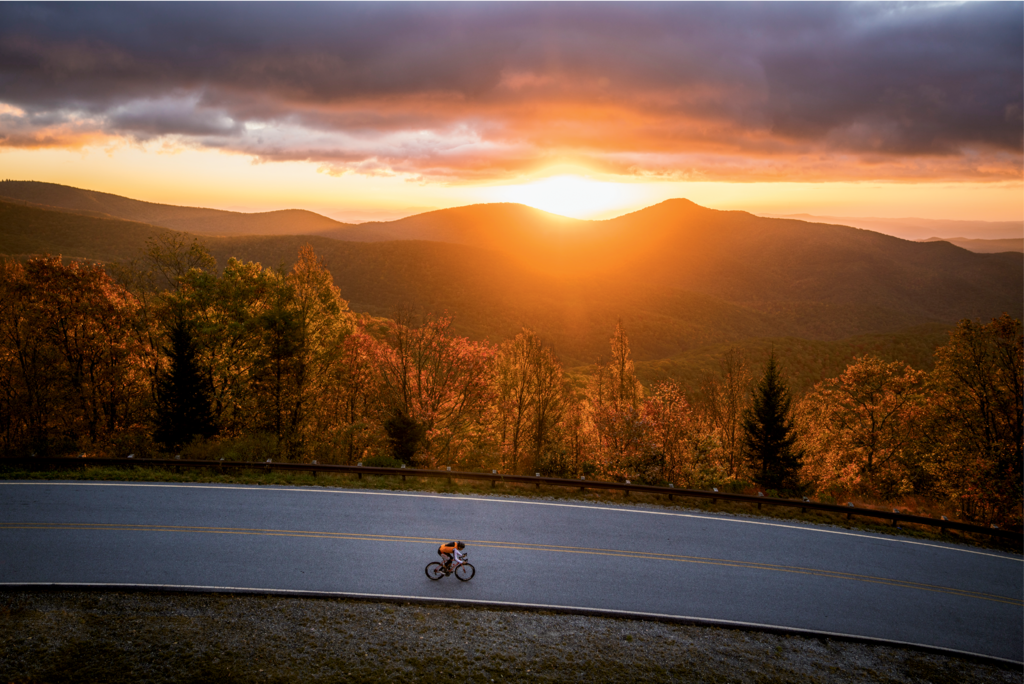 Finalist: Fall Road Biking by Derek DiLuzio (Professional category)
