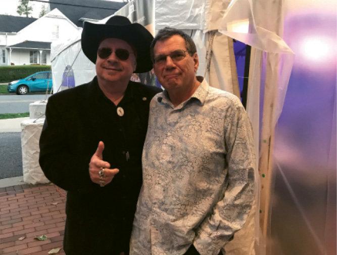 Musicians Freddie Vanderford and Jim  Peterman