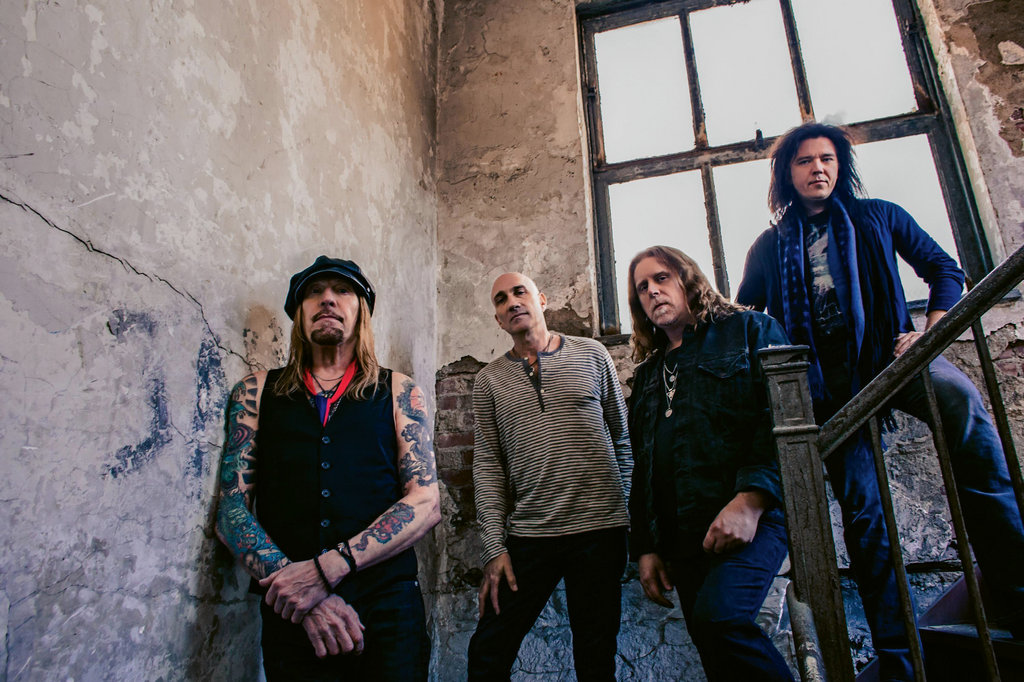 Haynes and late Allman Brothers bassist Allen Woody started Gov't Mule in 1994. Today's members include (from left) Matt Abts, Danny Louis, Haynes, and Jorgen Carlsson.