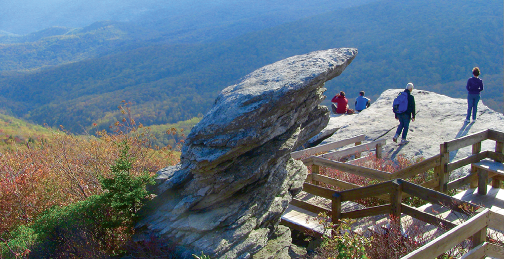 Top Area Hikes:  1. The Grandfather Trail