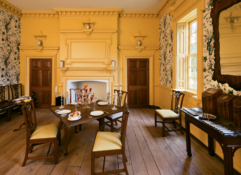 Worldly Elegance: An important example of 18th-century American architecture, Gunston Hall represented the Gothic, French Modern, Chinese, Palladian, and Classical styles in its interior.