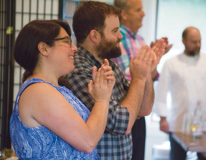 WNC Contributing Editor Jen Orris with photographer Rich Orris