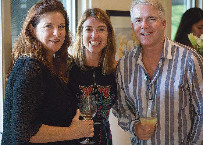 Stacee Peterson, Kiersa Holy, and Steve Woolum