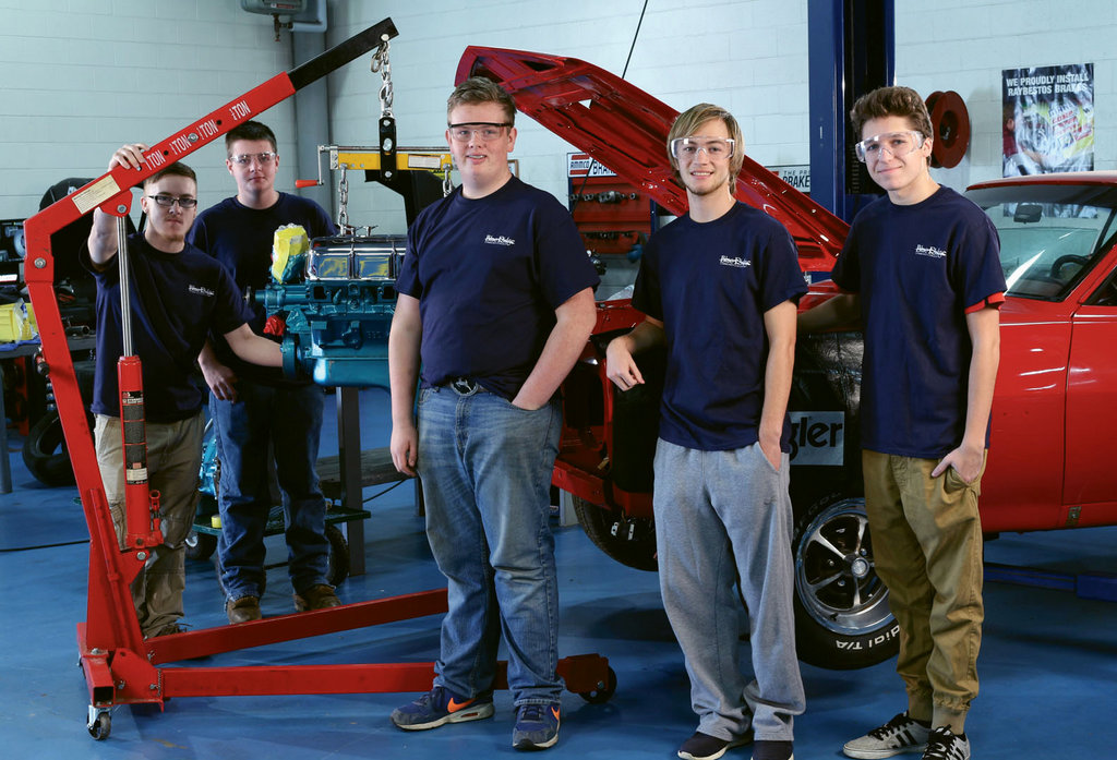 Through the Work-Based Learning program, Automotive Systems Technology students gain real work  experience during their studies.