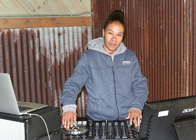Sonya Fair, aka DJ Migo, played a set.