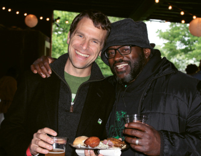Green Opportunities' cofounders Dan Leroy and DeWayne Barton