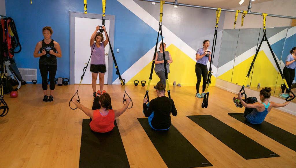 Well.Fit Asheville offers four different boot camps, some of which incorporate TRX Suspension training.