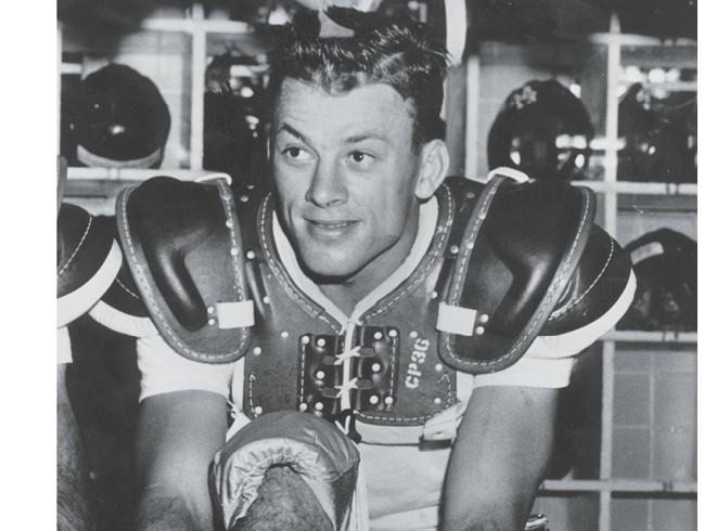 """Top WNC Athletes:  1. Charlie """"Choo Choo"""" Justice (1924-2003"""
