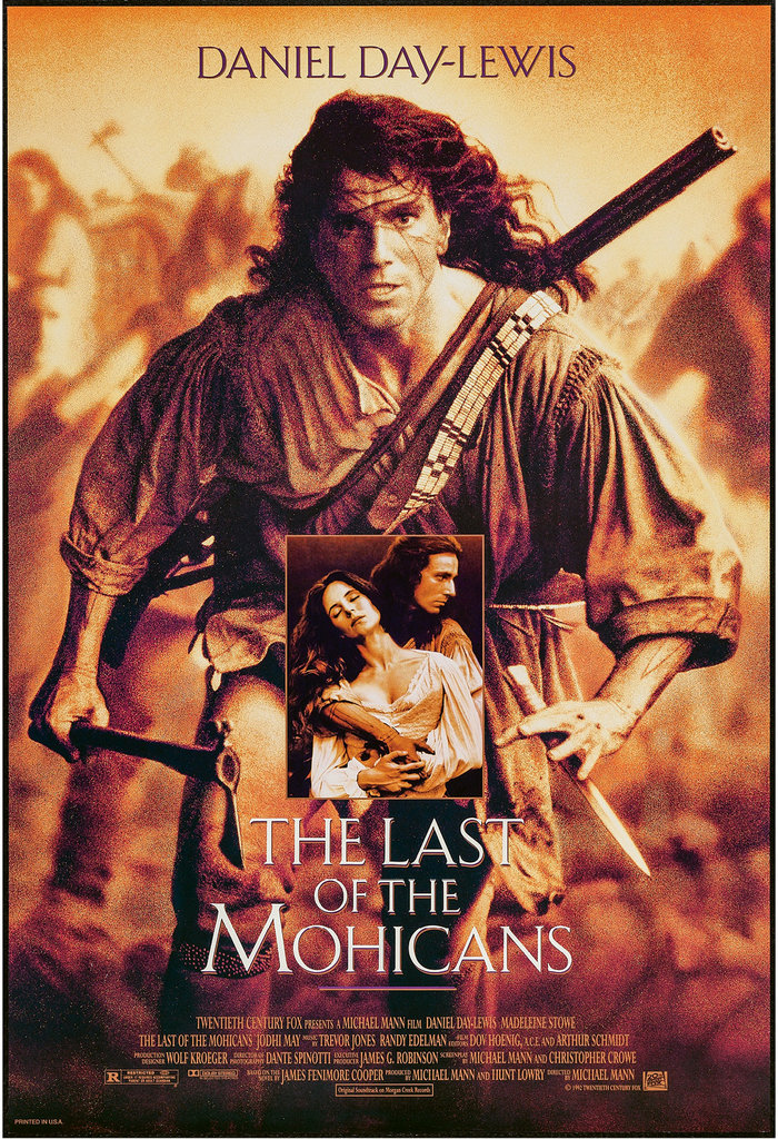 4. The Last of the Mohicans (1992)