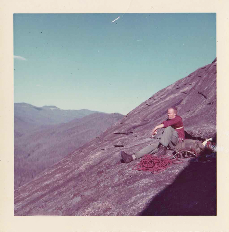 Steve Longenecker and friends were the first to climb it in December 1966.