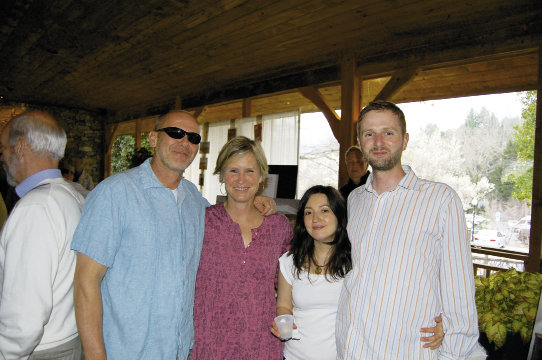 Scott and Lori McCloud, Stephanie Mauldin and Micah McClure