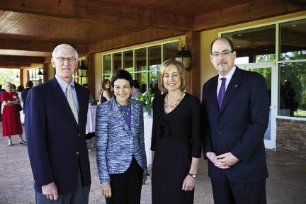 Board Chair Ernest Ferguson, Senator Olympia Snowe, Dee Dee Myers, and Steve Solnick