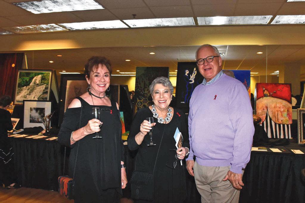 Lynne Leaf, Marilyn Black, and Michael Brodnax