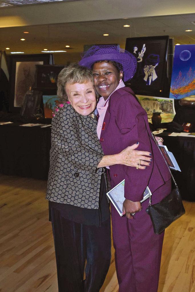 Sue Snyder and Patricia Goode