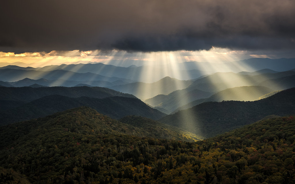 Honorable Mention: Rays of Light by Matt Williams (Professional category)