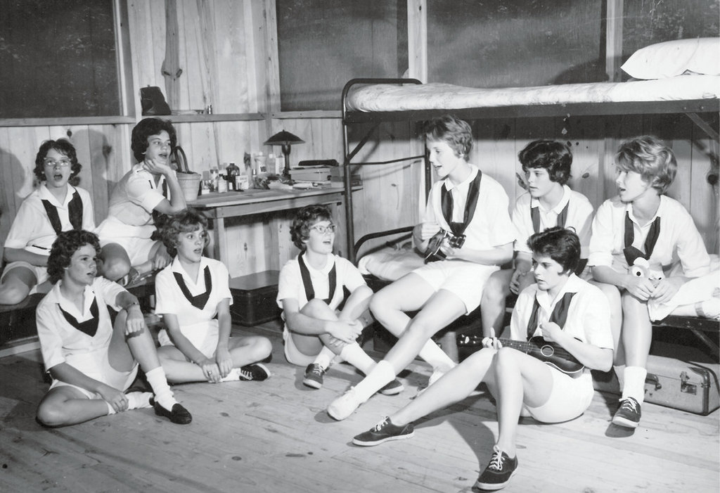 Life at camp, including the songs and games that fill free time, is not so different today as it was in the early 1960s