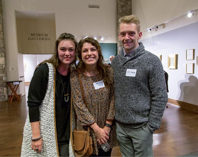 Michelle Lyerly, Sarah Morales, and Zack Strange