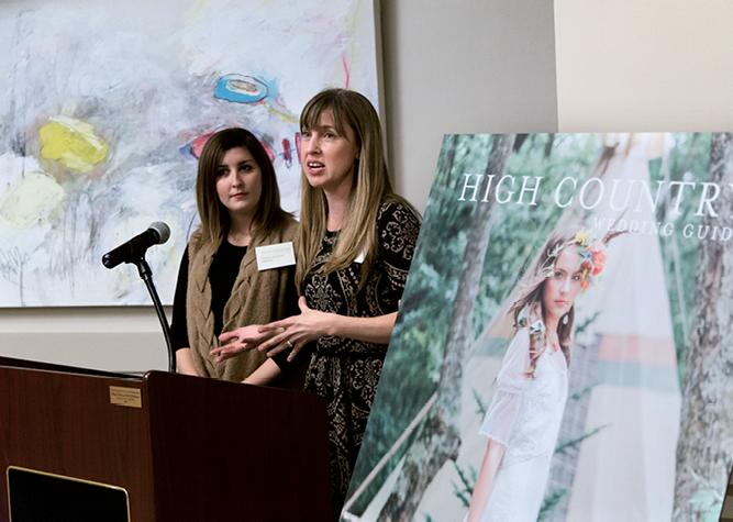 HCWG Blog Editor Andraya Northrup and Editorial Director Melissa Bigner
