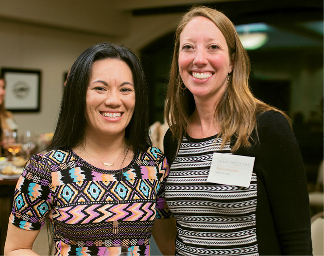 Photographer Jessica Maceda with WNC Editor-in-Chief Melissa Reardon
