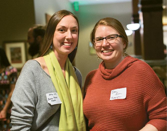 Anna Ulery and Ellen Gwin