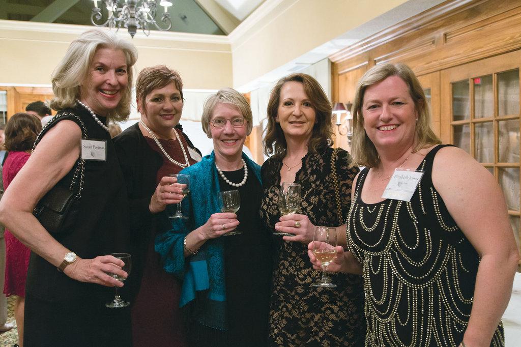 Susan Portman, Lynn Strickland, Alicia Hearne, Susan Kain, and Elizabeth Jones
