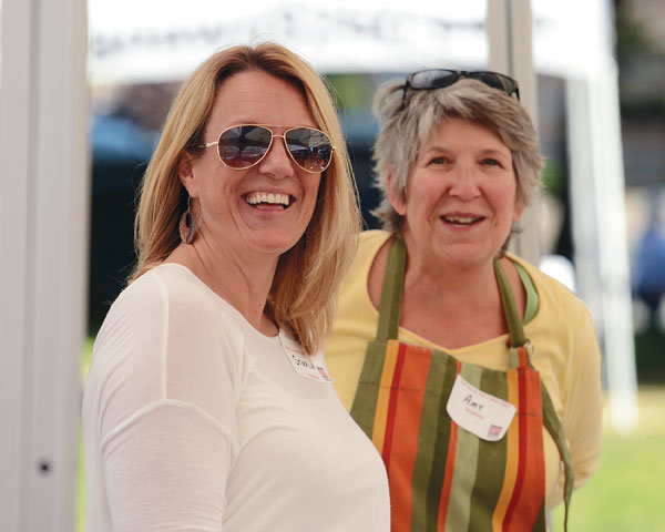 Starla Hoke and Amy Voss