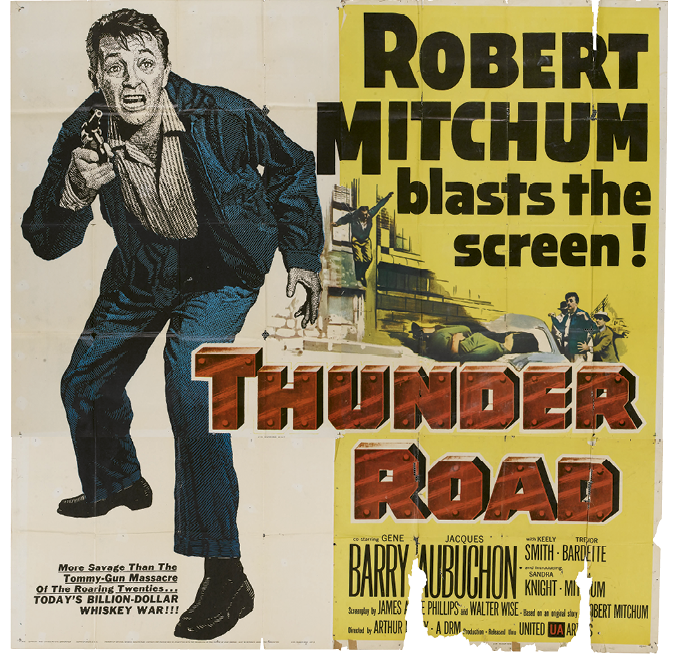 WNC-made Movies:  1. Thunder Road (1958)