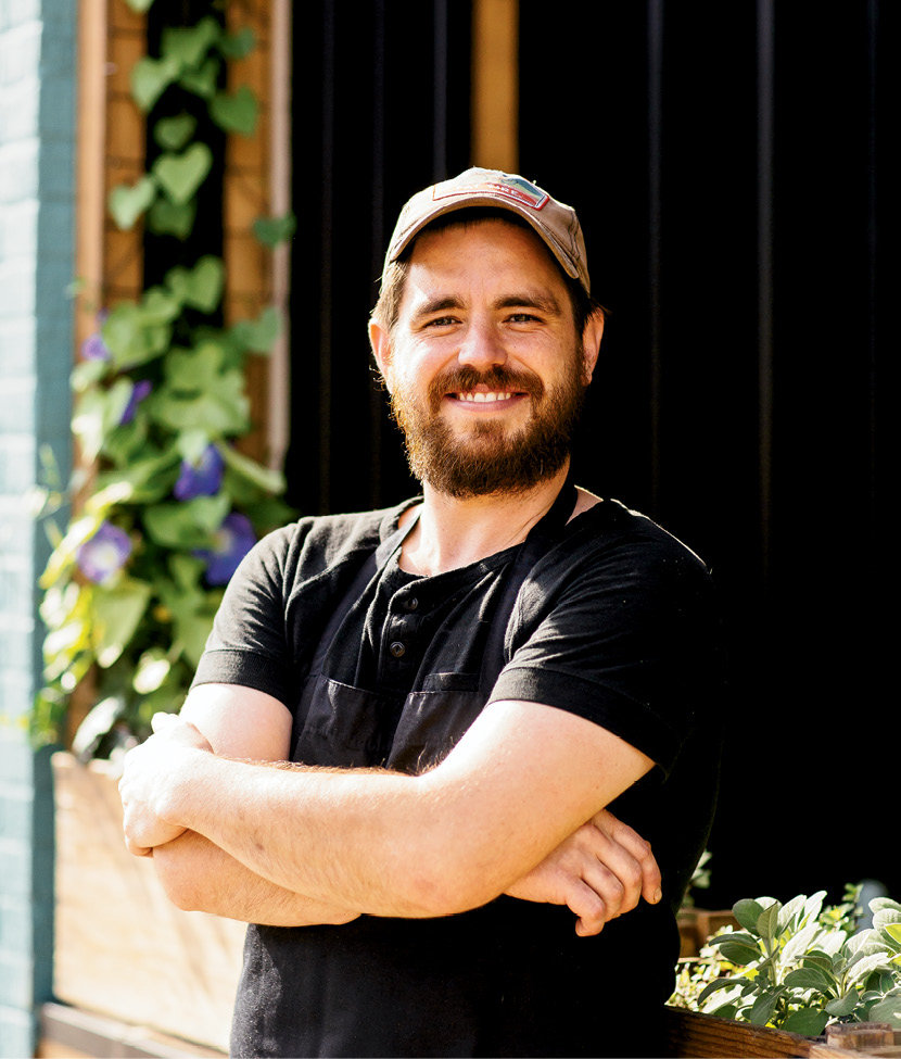 Owner and chef Rob Starr